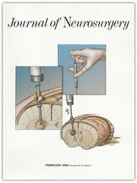 Cover Journal of Neurosurgery