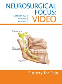 Volume 3: Issue 1 (October 2020): Surgery for Pain
