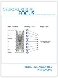 Volume 45: Issue 5 (Nov 2018): Predictive Analytics in Medicine