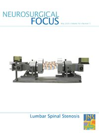 Cover Neurosurgical Focus