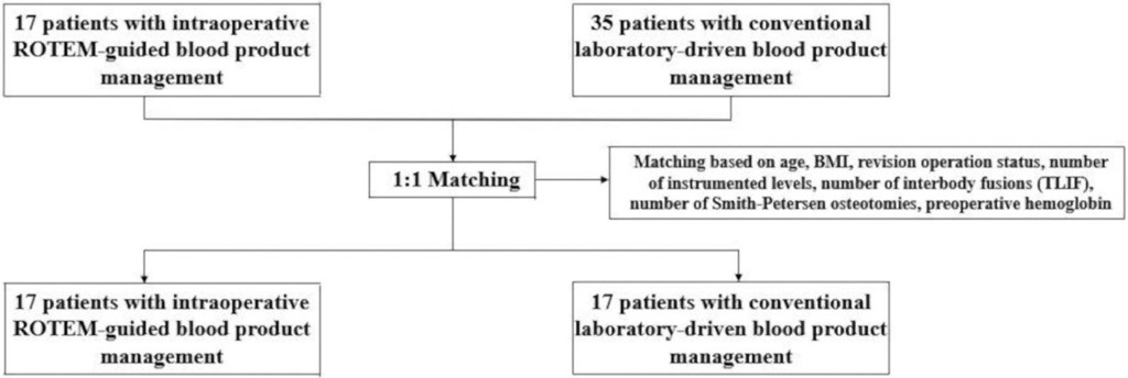 Rotational thromboelastometry–guided transfusion during lumbar