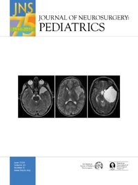 Cover Journal of Neurosurgery: Pediatrics