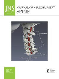 Cover Volume null: Issue null: Journal of Neurosurgery: Spine