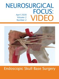 Cover Neurosurgical Focus: Video