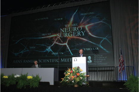 The 2012 AANS Presidential Address in: Journal of Neurosurgery