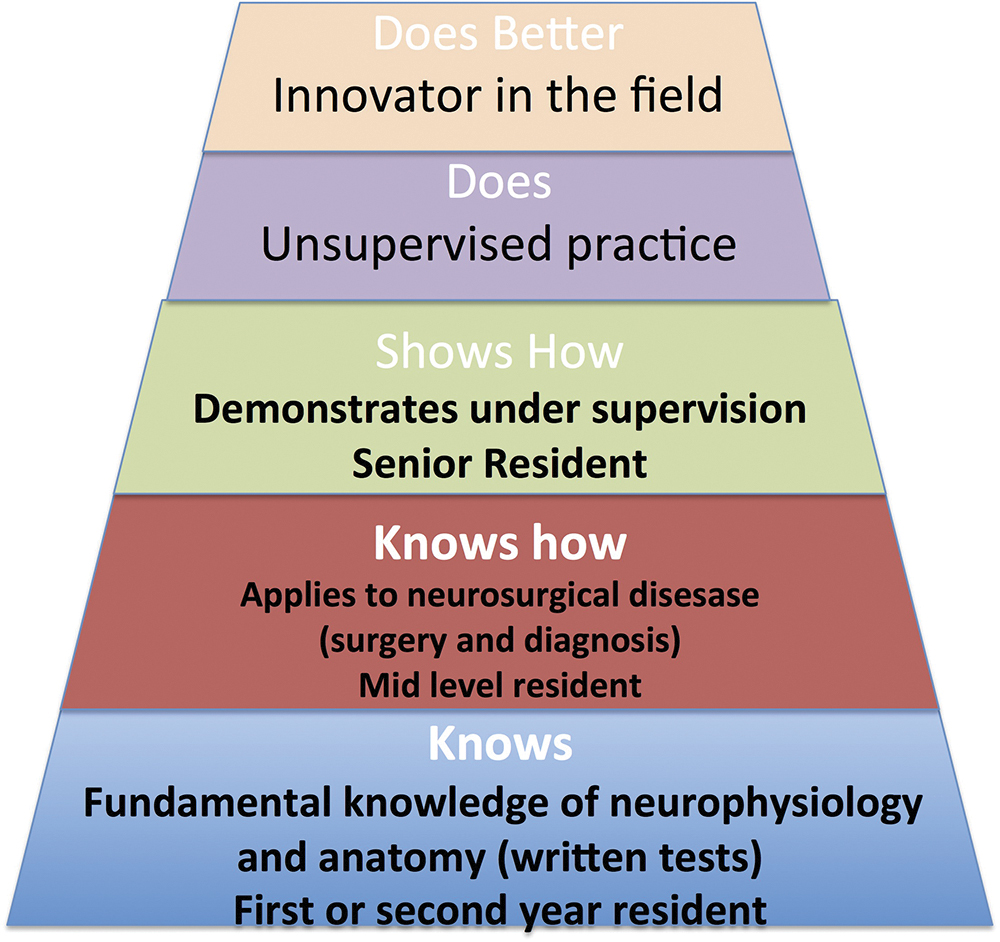 Neurosurgeon as educator: a review of principles of adult education