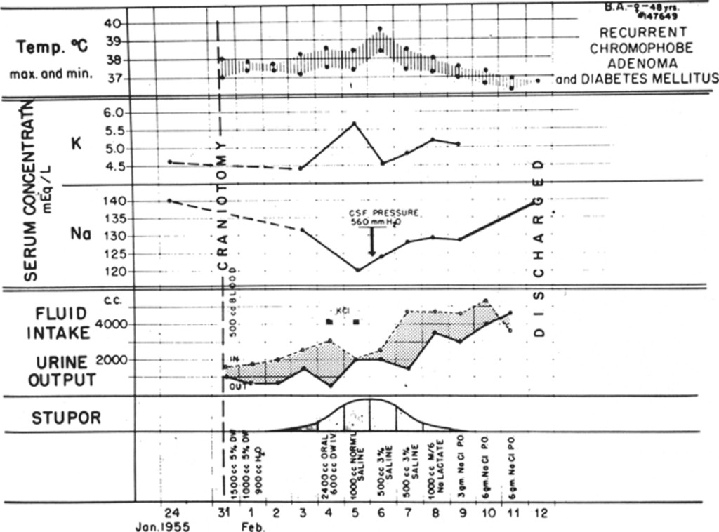 Fluid And Electrolyte Balance Following Craniotomy In Journal Of Neurosurgery Volume 13 Issue 3 1956